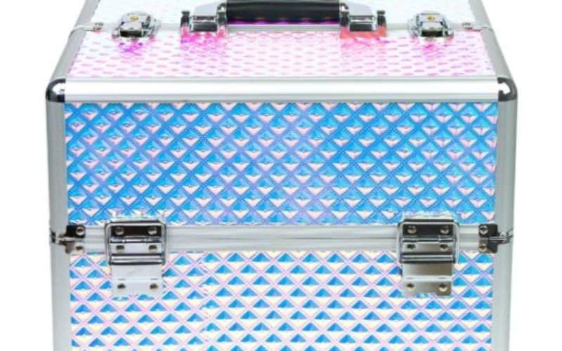 kolorowy kuferek kosmetyczny