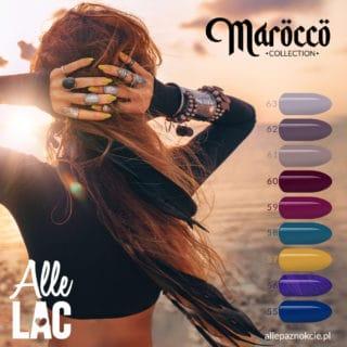 lakiery hybrydowe marocco collection od allelac
