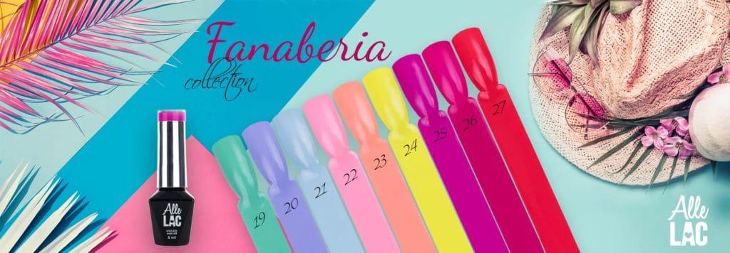 Fanaberia Collection letnie kolory lakierów hybrydowych