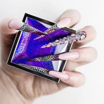 metoda żelowa do przedłużania paznokci
