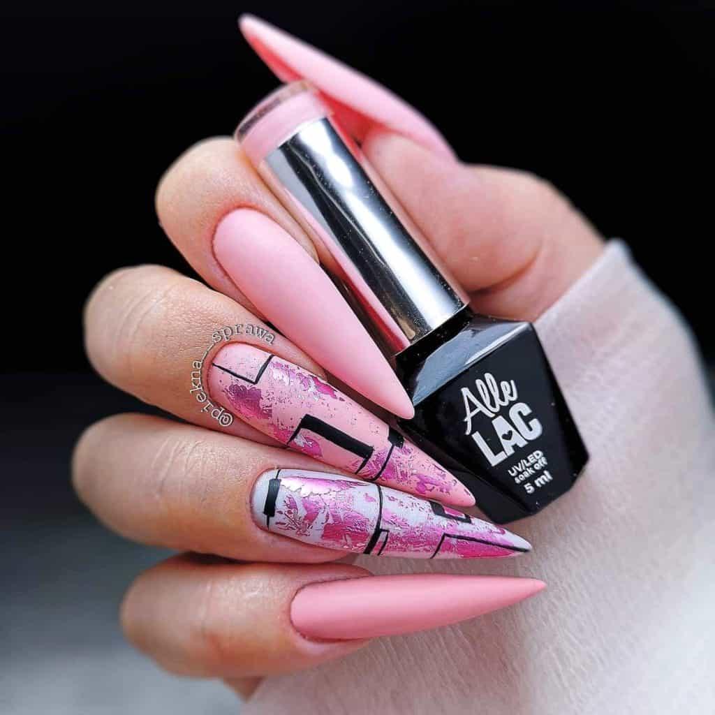 AlleLac przykład manicure