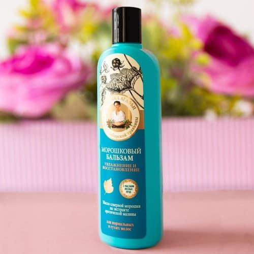 kosmetyki Babuszka Agafii balsam do suchych włosów