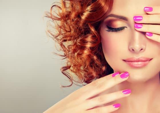 kolorowe żele do paznokci