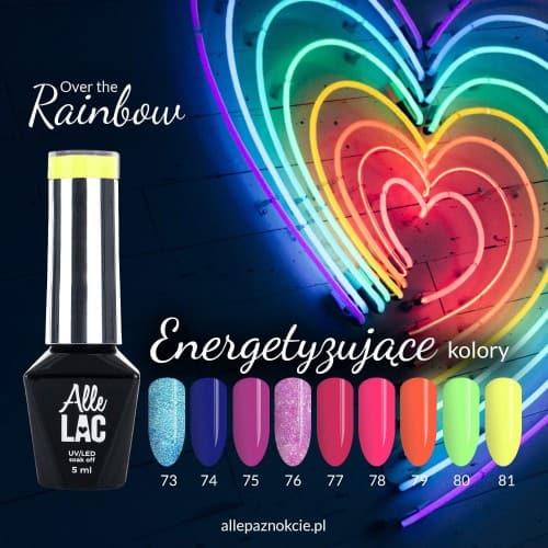 kolekcja lakierów hybrydowych rainbow