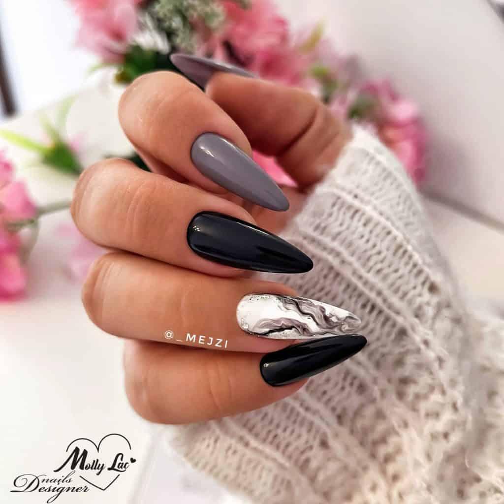 jesienne paznokcie MollyLac