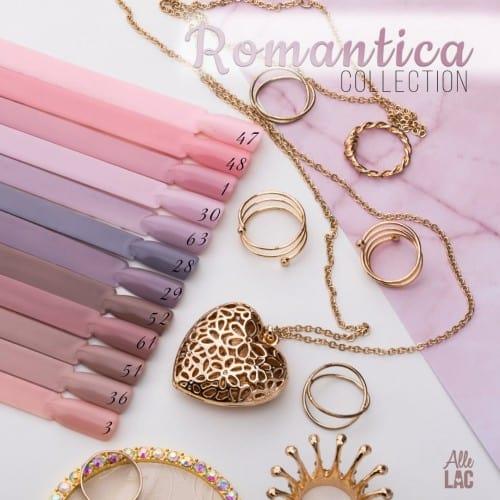 kolekcja lakierów hybrydowych romantica
